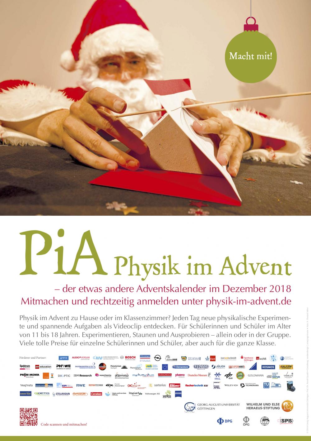 Physik im Advent – noch 24 Experimente bis Weihnachten – Couven ...
